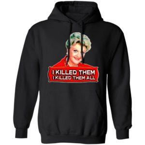 Jessica I kill them I killed them all shirt