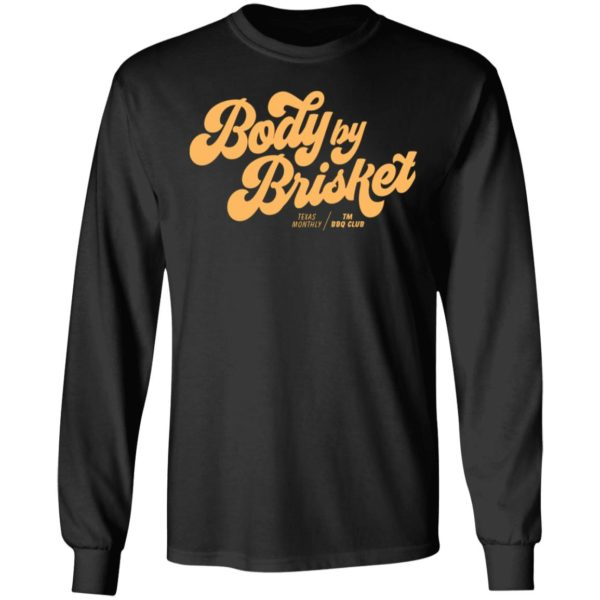 Body By Brisket Texas Monthly Vintage Color T-Shirt