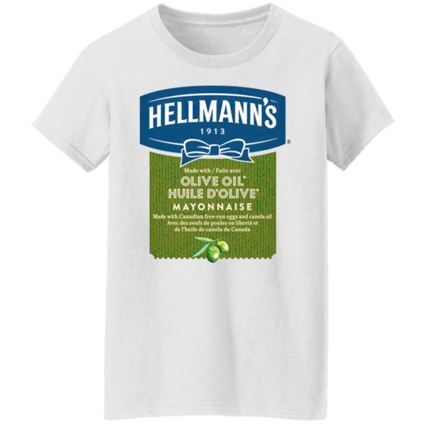Hellmann's Olive Oil Huile D'Olive Mayonnaise T-Shirt, hoodie, sweatshirt