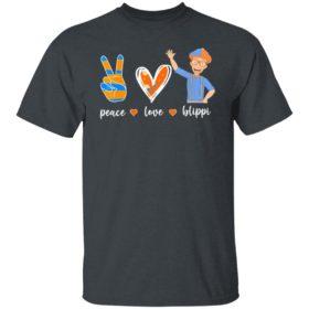 Peace love Blippis shirt