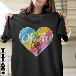Obvio Pride Rainbow Heart T-Shirt, LS, Hoodie