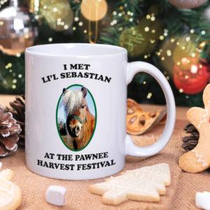 Lil Sebastian Pawnee Harvest Festival Mug