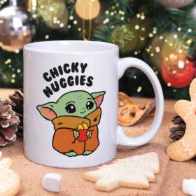 Chicky Nuggies Get in Loser Mug