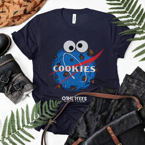 Space Cookies Shirt, ls, hoodie