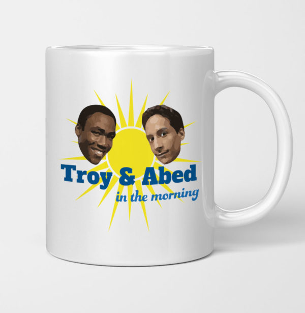 Troy and Abed Greendale Abed Nadir In the Morning Community Mug