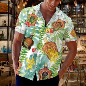 Crown Royal Canadian Hawaiian Shirt, Tropical Beach Shorts