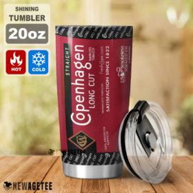 Copenhagen Long Cut Skinny Tumbler Stainless Steel 20oz 30oz