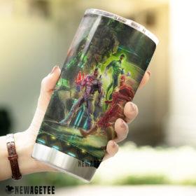 The Justice League D.C. Super Hero Skinny Tumbler 30oz 20oz