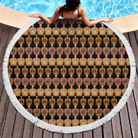 Crown Royal Canadian Round Beach Towel