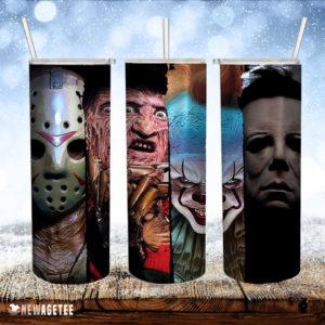 Freddy Krueger Horror Movie Skinny Tumbler