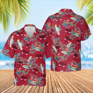 Chicago Bulls Hawaiian Shirt, Beach Shorts for Men
