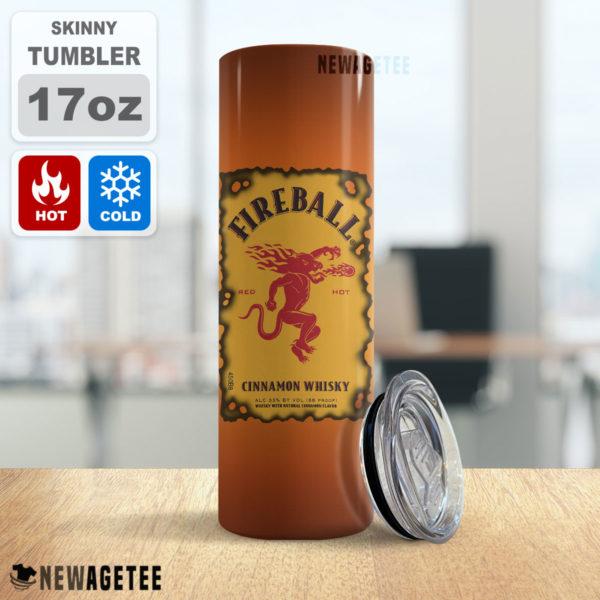 Fireball Canadian Whisky Skinny Tumbler 20oz 30oz