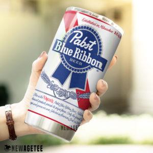 Pabst Blue Ribbon Beer Skinny Tumbler 30oz 20oz
