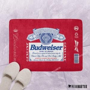 Budweiser Beer Bath Mat
