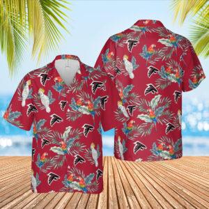 Atlanta Falcons Hawaiian Shirt, Beach Shorts for Men