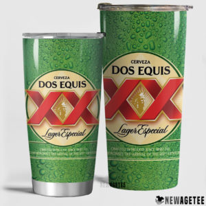 Dos Equis Beer Skinny Tumbler 30oz 20oz