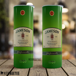 Jameson Triple Distilled Irish Whiskey Skinny Tumbler 30oz 20oz
