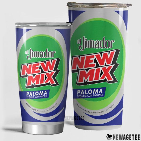 El Jimador New Mix Paloma Skinny Tumbler Stainless Steel 20oz 30oz