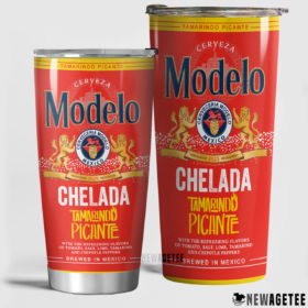 Modelo Chelada Beer Skinny Tumbler Stainless Steel 20oz 30oz