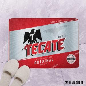 Tecate Original Beer Bath Mat