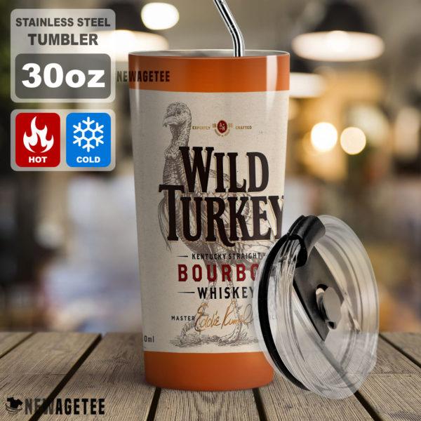 Wild Turkey Bourbon Whiskey Skinny Tumbler 20oz 30oz