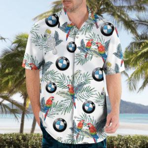 BMW Hawaiian Shirt, Beach Shorts for Men