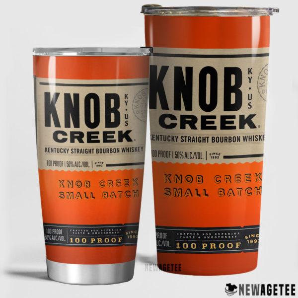 Knob Creek Bourbon Whiskey Skinny Tumbler 30oz 20oz