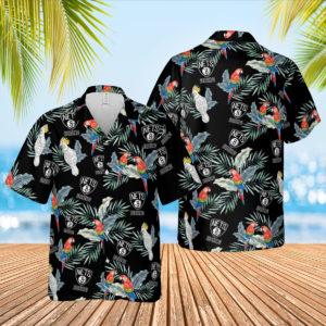 Brooklyn Nets Hawaiian Shirt, Beach Shorts for Men