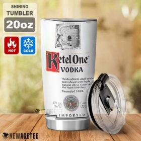 Ketel One Vodka Skinny Tumbler Stainless Steel 20oz 30oz