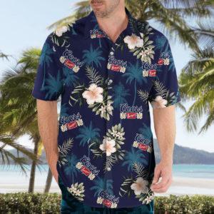 COORS BANQUET Beer Hawaiian Shirt for Men