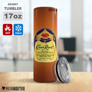 Crown Royal Canadian Whisky Skinny Tumbler 20oz 30oz