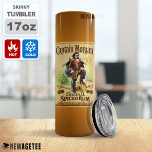 Captain Morgan Rum Skinny Tumbler 20oz 30oz