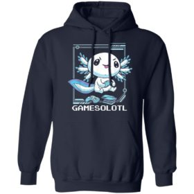 Axolotl Gamesolotl Shirt