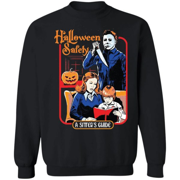 Michael Myers Halloween Safety A Sitter's Guide Shirt