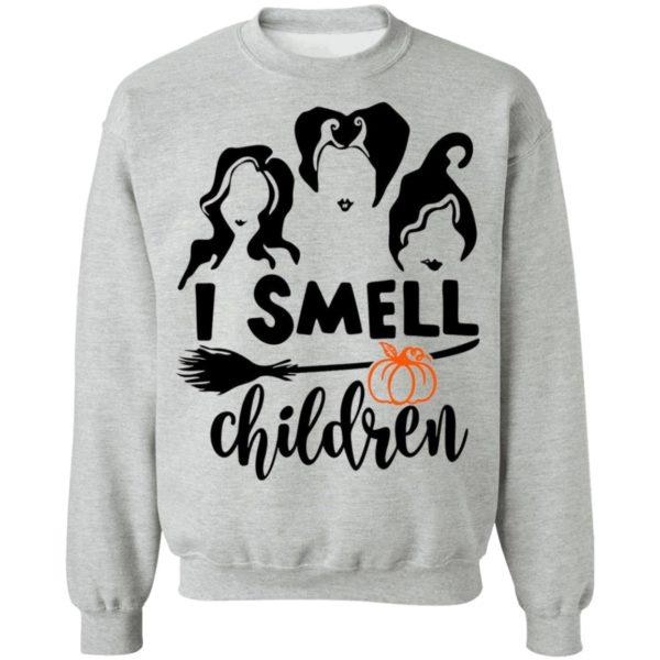 Hocus Pocus Sanderson Sisters I Smell Children Halloween Shirt