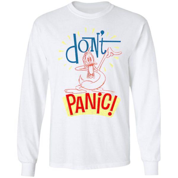 Duck Donald Don'T Panic Cat Badell Shirt