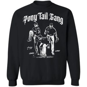 Ponytail Gang White Sox shirt