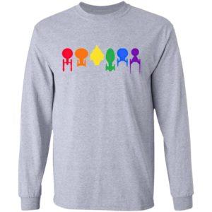 Star Trek Ship Pride Lgbt Shirt
