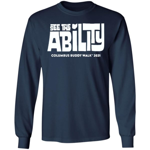 See The Ability Columbus Buddy Walk 2021 shirt, Hoodie