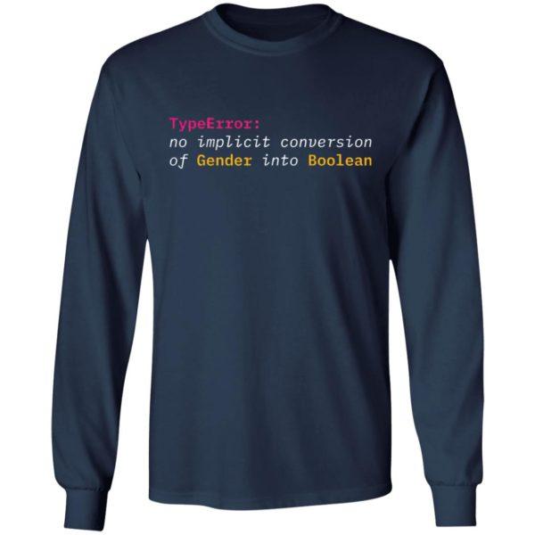 Typeerror No Implicit Conversion Of Gender Into Boolean Shirt