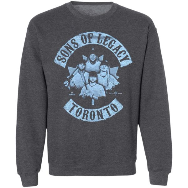 Sons Of Legacy Bo Bichette Vladimir Guerrero Jr-Cavan Biggio Lourdesgurriel Jr Toronto Baseball Shirt