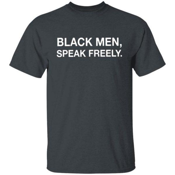 Black Men Speak Freely Human Right Shirt