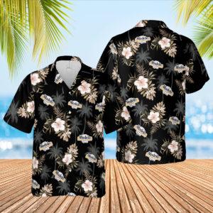Modelo Beer Hawaiian Shirt, Beach Shorts for Men