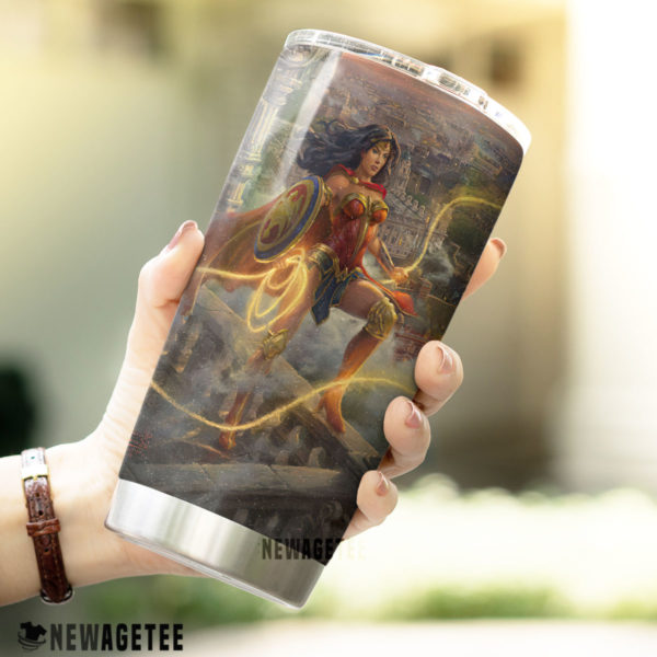 Wonder Woman Lasso of Truth Skinny Tumbler 30oz 20oz