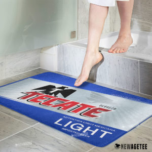 Tecate Light Beer Bath Mat