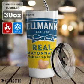 Hellmann's Real Mayonnaise Crew Skinny Tumbler 20oz 30oz