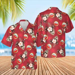 AMSTEL Beer Hawaiian Shirt, Beach Shorts for Men