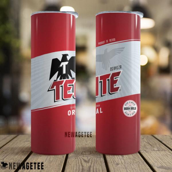 Tecate Original Beer Skinny Tumbler Stainless Steel 20oz 30oz