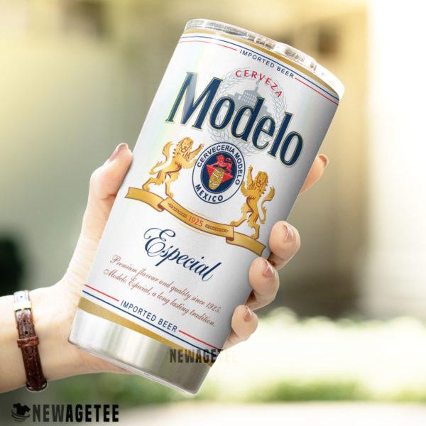 Modelo Especial Beer Skinny Tumbler Stainless Steel 20oz 30oz