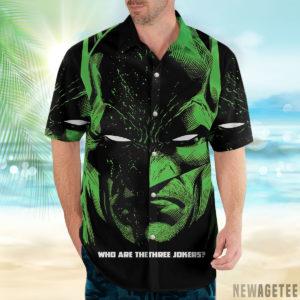 1 Hawaiian Shirt Batman Three Jokers